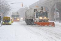 New York snow storm (Ivan Nikolov/WENN)
