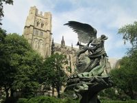 The Cathedral Church of St. John the Divine, Upper Manhattan, New York City